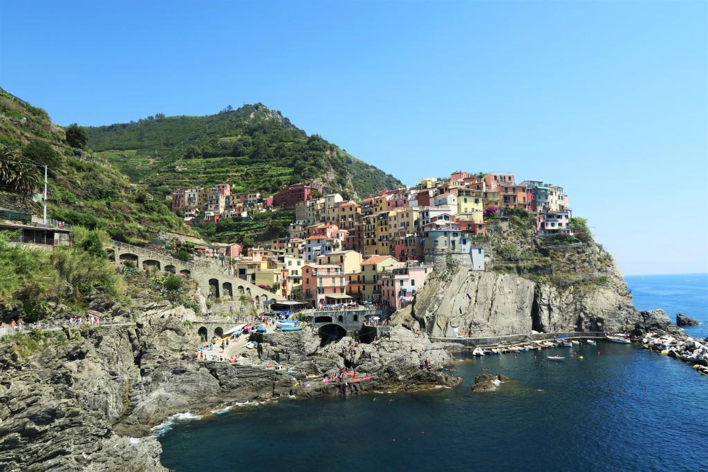 gekleurde huizen italie